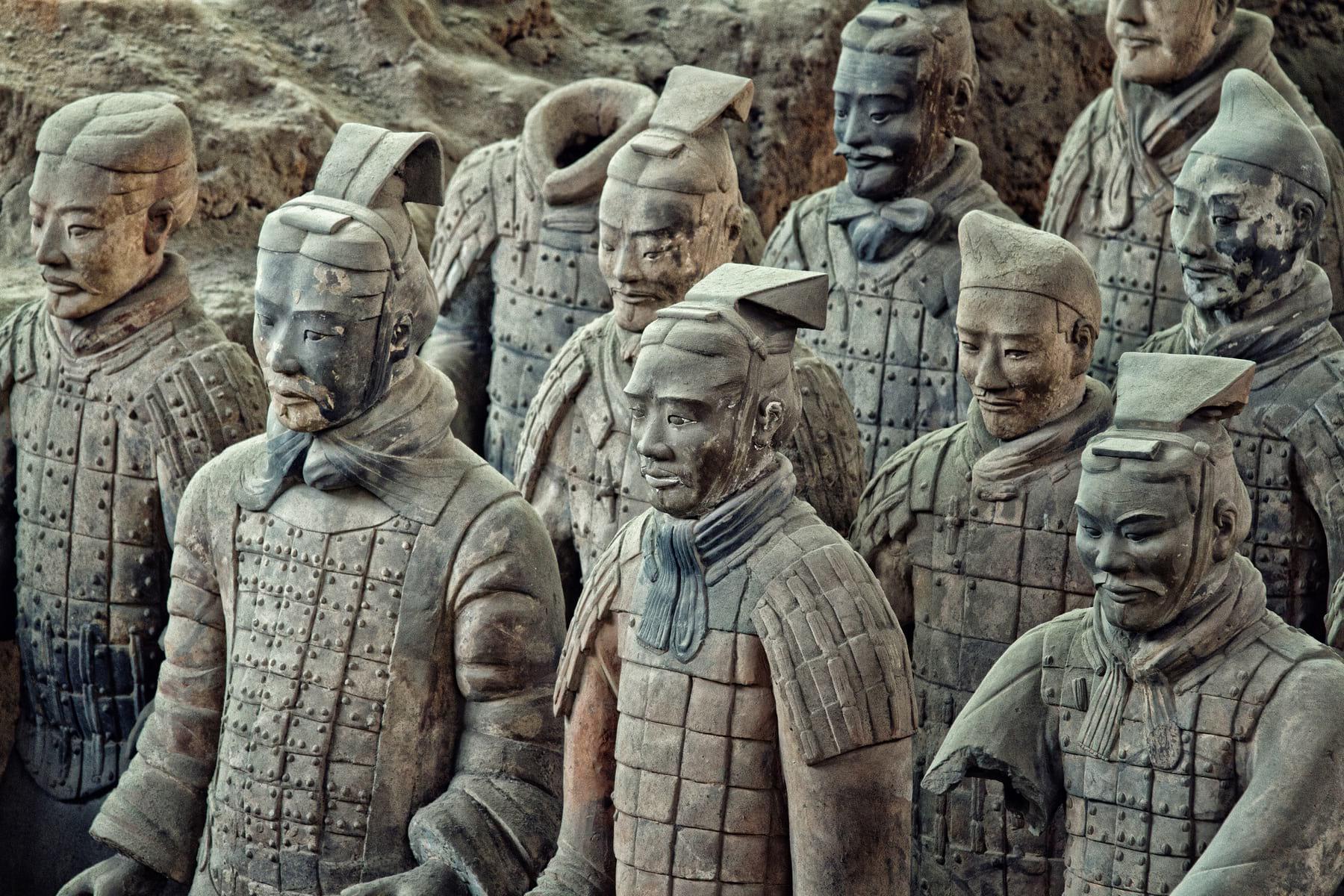 Терракотовая армия императора Цинь Шихуанди: где находится